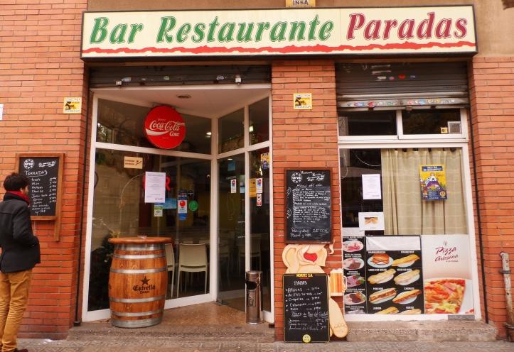 bar restaurante paradas areveure