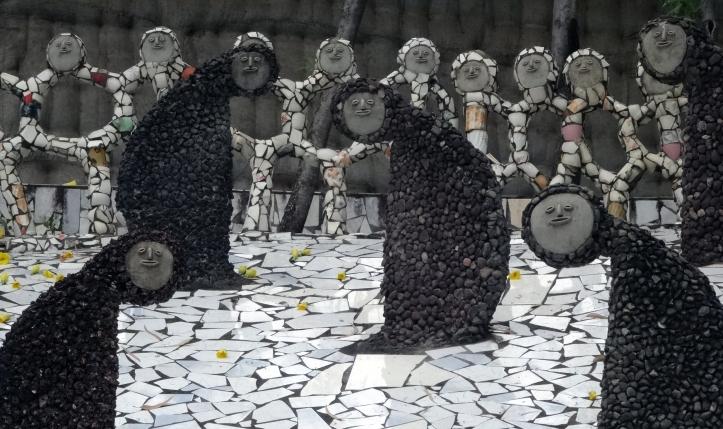 escultures rock garden areveure