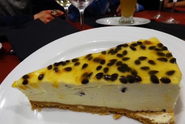 pastís formatge maracujà oporto restaurante