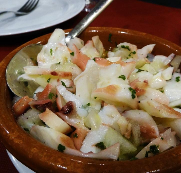 pop amb salsa verda oporto restaurante