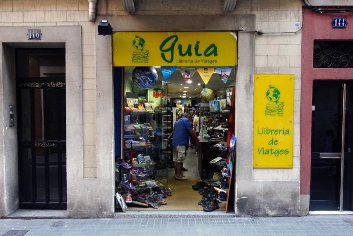 guia llibreria barcelona areveure