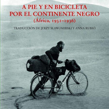 a pie y en bicicleta por el continente negro portada