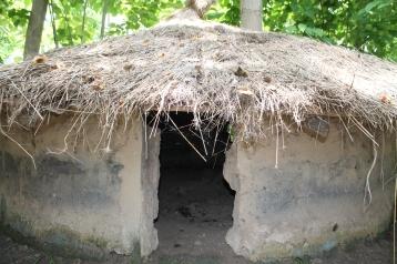 Casa tradicional al Museu de Tanji