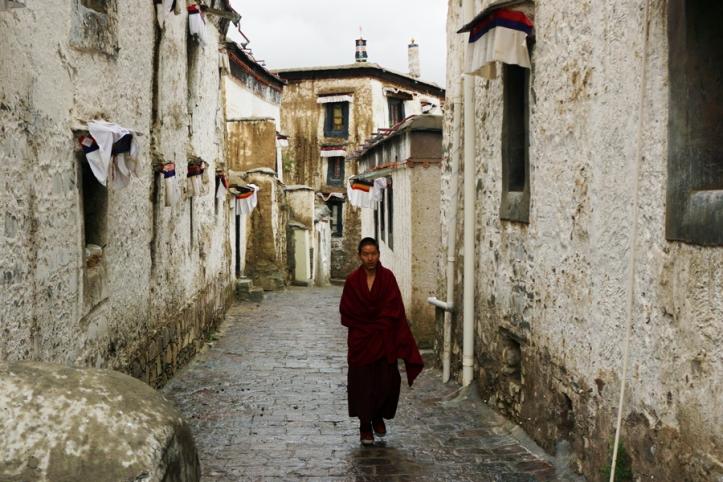 Monjo budista Tibet