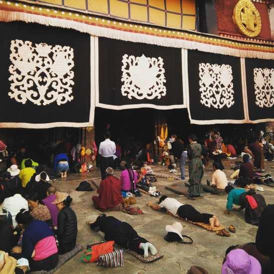 Postracions a Jokhang