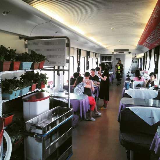 Tren Beijing-Lhasa (vagó restaurant)