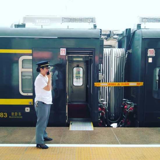 Tren Beijing-Lhasa (aturada al camí)