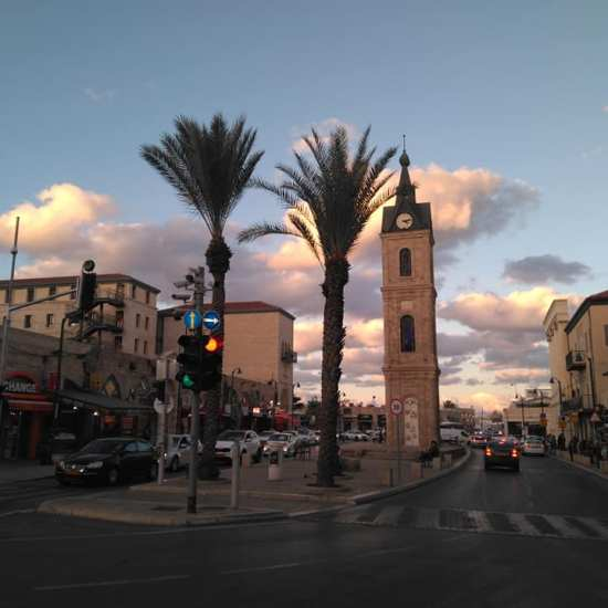 tel aviv clock tower
