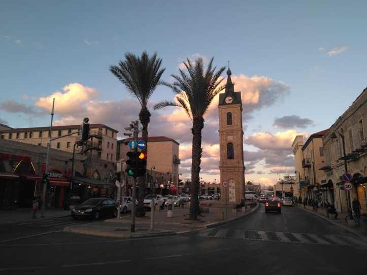 tel aviv clock tower