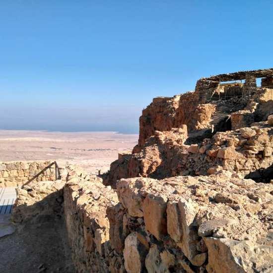masada ruïnes