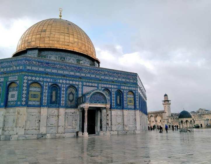 La Cúpula de la Roca, un dels llocs més representatius de Jerusalem