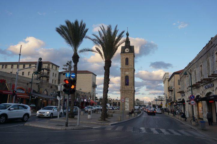 Torre del Rellotge al barri de Jaffa