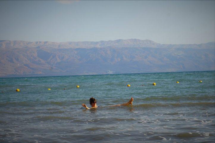 flotant al mar mort
